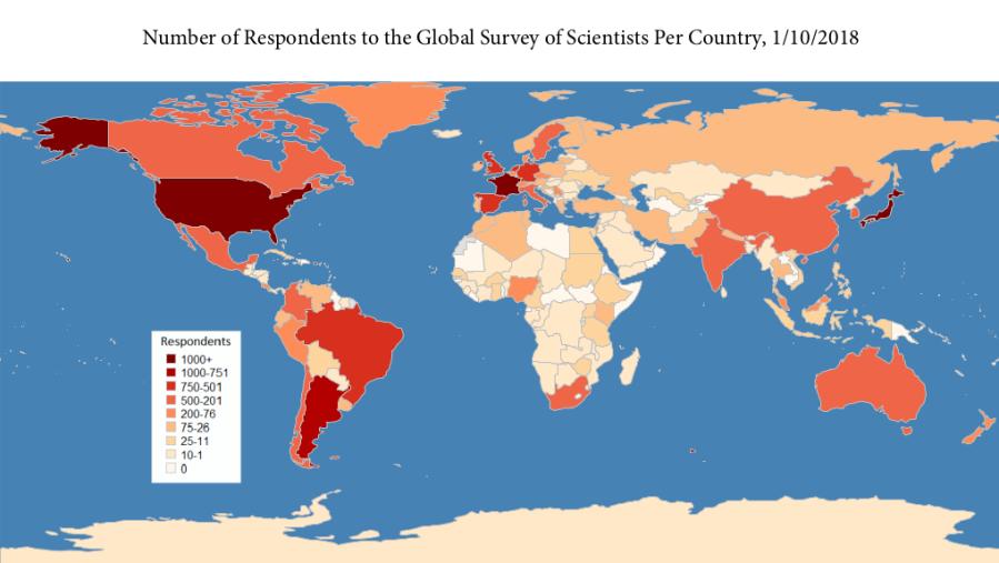 Oct Respondent Map